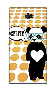 Blink Ideas Back Cover for Xperia M2