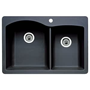 Blanco 511-607 Diamond 1-3/4 Bowl Kitchen Sink (Anthracite Finish)
