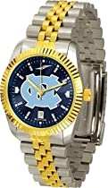 North Carolina Tar Heels UNC NCAA Mens 23Kt Executive Watch