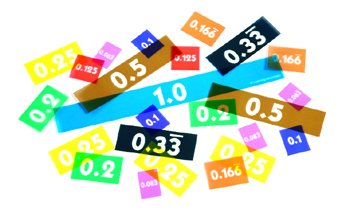Overhead Decimal Tiles Set Of 51 - 1