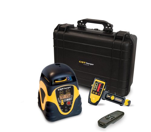 CST/berger 57-ALGRD Horizontal and Vertical Electronic Self-Leveling Digital Dual Grade Rotary Laser Level