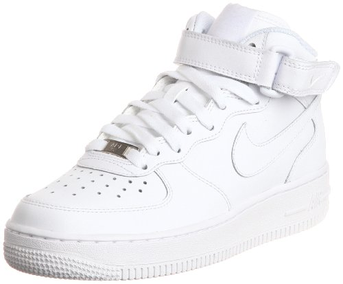 [ナイキ] NIKE NIKE AIR FORCE 1 MID GS  314195-113 WHITE/WHITE (ホワイト/US4)