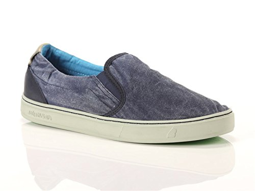 Satorisan Scarpe Slip On Uomo Soumei blu art. 161007 Midnight