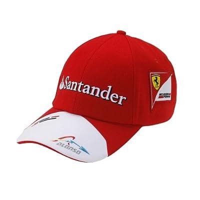 Ferrari Santander Fernando Alonso Hat 2013