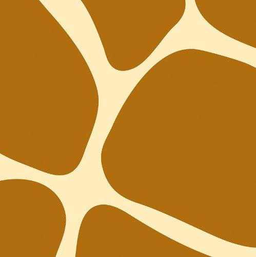Creative Converting Animal Print Giraffe Beverage Napkins, 16 Count