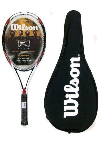 Wilson [K] Seven 100 Tennis Racket RRP £200 L4