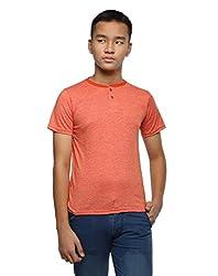 OHM Mix Orange Henley Tee (FWOHM-GT-44_Orange_Small)