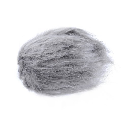 """Movo Ws1 Furry Outdoor Microphone Windscreen Muff For Small Compact Microphones Up To 3"""" X 40Mm (L X D) (Fits The Zoom H1, Shenggu Sg-108 & More)"""