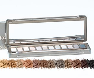 The Lano Company Pure Cosmetics Eyeshadow Palette, Nude
