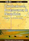 img - for Lonely Planet Zimbabwe, Botswana and Namibia Travel Atlas book / textbook / text book