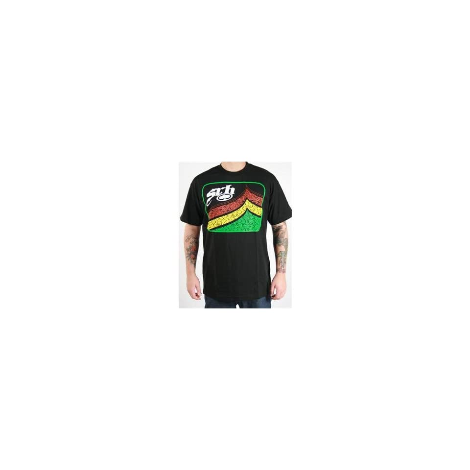 SRH Ramp T Shirt   X Large/Black
