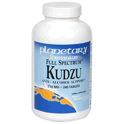 Planetary Herbals  Full Spectrum Kudzu, 750 mg, Tablets , 240 tablets