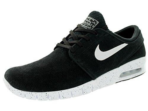 Nike Men's Stefan Janoski Max L Black/white Skate Shoe (9.5) (Stefan Janoski Nike Shoes compare prices)