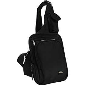 Travelon Slim-Line Messenger-Style Shoulder Bag
