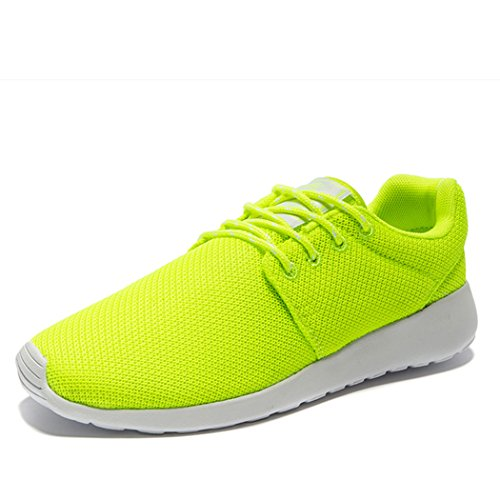 Adi Mens Breathable Comfortable Lace-Up Running Shoes,Walk,Beach Aqua,Outdoor,Exercise,Athletic Sneakers (6 B(M) US Women, Green)