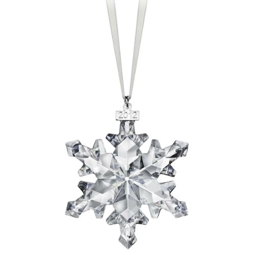Swarovski 2012 Annual Edition Crystal Snowflake Ornament