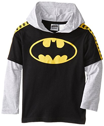 DC Comics Little Boys' Batman Hooded Hangdown at Gotham City Store