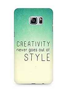 AMEZ creativity never goes out of style Back Cover For Samsung Galaxy S6 Edge Plus