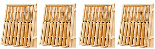 PSI Woodworking LCHSS8 Wood Lathe HSS Chisel Set, 8Piece (4)