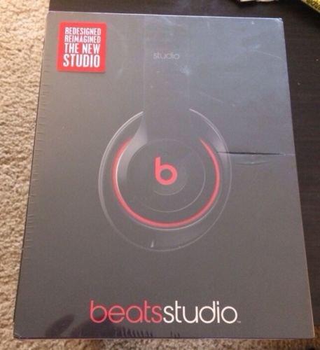 Beats Studio Over Ear Headphones (Black) - New