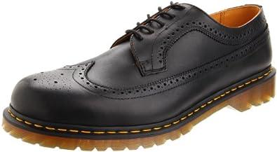 Dr. Martens Men's Saxon 3989 Wingtip Oxford,Black,6 UK (US Men's 7 M)