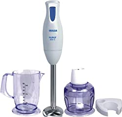 Inalsa Robot 300 C 300-Watt Hand Blender with Chopper