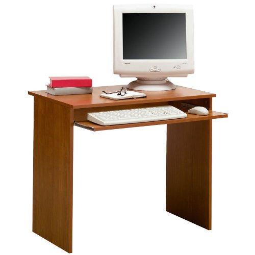 Porta pc scrivania economico compatto ciliegio pc5518 for Arredamento etnico economico