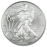 "2011 American Silver Eagle Coin in ""Air-Tite"" Capsule"
