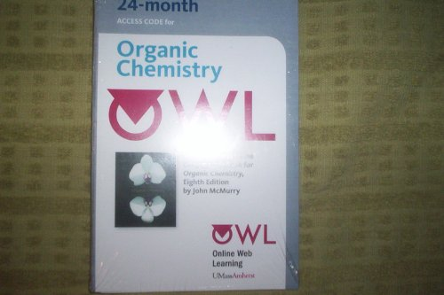OWL (24 Month) Printed Access Card for Organic Chemistry
