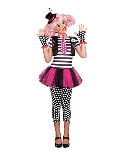 [Dreamgirl 9949 Clownin' Around Girls Costume - Large - Multicolor] (Clownin Around Girls Costumes)