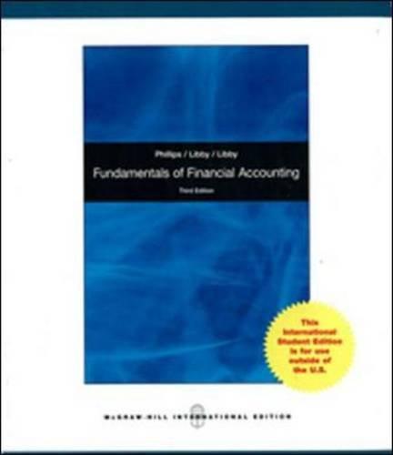 Fundamentals of Financial Accounting Wi