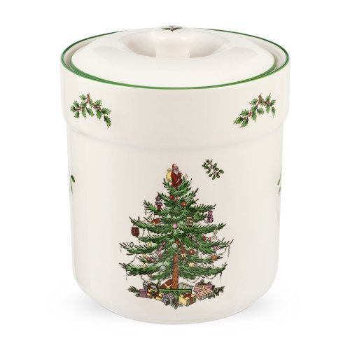 Spode Christmas Tree Sweet Jar 6