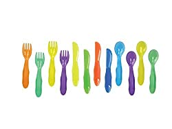The First Years Take & Toss Toddler Flatware, 12 Pack By The First Years