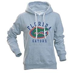 Florida Gators Ladies Hooded Sweatshirt Gray by Elite Fan Shop