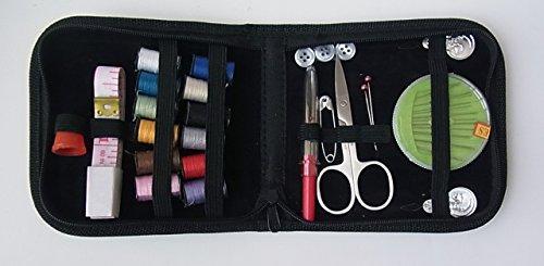 ソーイング セット ファスナーポーチ 旅行先や一人暮しに、携帯できる裁縫 箱