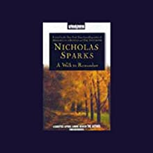 A Walk to Remember Audiobook by Nicholas Sparks Narrated by Nicholas Sparks