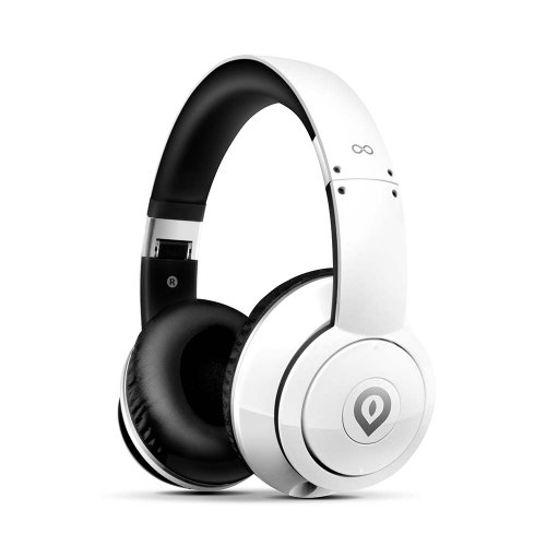 Alienvibes Ep02Wt Active Noise Cancelling Headphone With Inline Microphone & Control, 40Mm High Definition Drivers - White