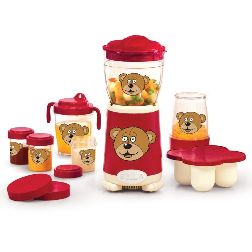 Bella 13617 Baby Rocket Blender, Red