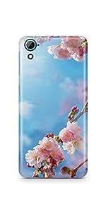 Casenation Spring Flower HTC 826 Matte Case