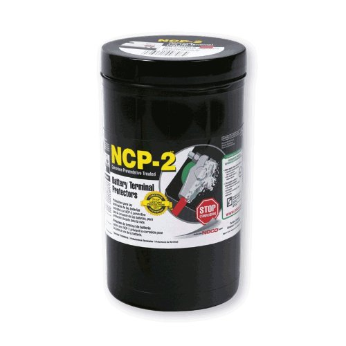 NOCO C704S NCP-2 Grey Top Post Battery Corrosion Terminal Protector, (Pack of 100)