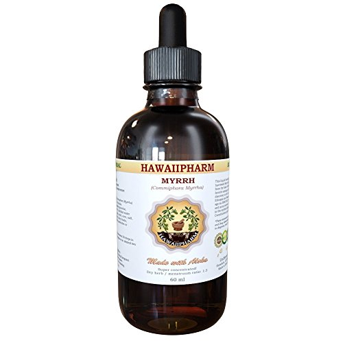 Myrrh (Commiphora myrrha) Liquid Extract Tincture 2 oz (Myrrh Extract compare prices)