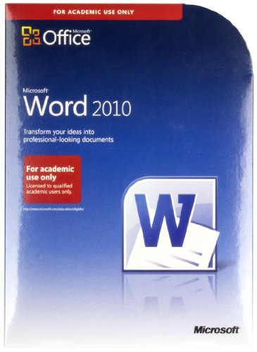 New Microsoft Office Word 2010 Software For Academic Use Compatible W Windows