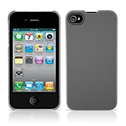 Agent18 GIPSSX/G SlimShield Slim Case for iPhone 4/4S - 1 Pack - Retail Packaging - Gray