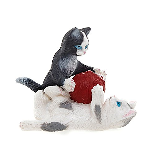 Schleich Kittens with Ball of Yarn Toy Figure - 1