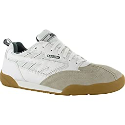 HI-TEC SQUASH CLASSIC Mens Trainers (7.5 US) (White/Green)