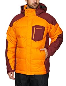 Marmot Men's Shadow Down Jacket - Orange Spice/ Tawny Port M