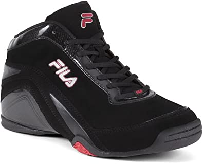 Fila Men's Beats,Black/Black/Metallic Silver,US 13 M