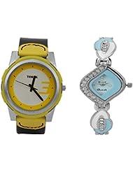 TOREK Luxury Combo515 Yellow Fastrak Men And Stylish Women Watch For Men,Women,Boys,Girls,Couple