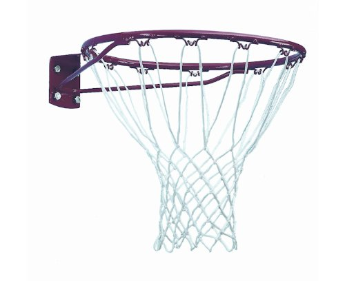 Sure Shot Basketball Ring - Red/ White