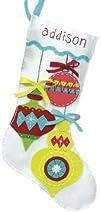 Dimensions Crafts Felt Applique Stocking Bright Ornament